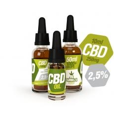 CBD Oil 2.5% 10ml