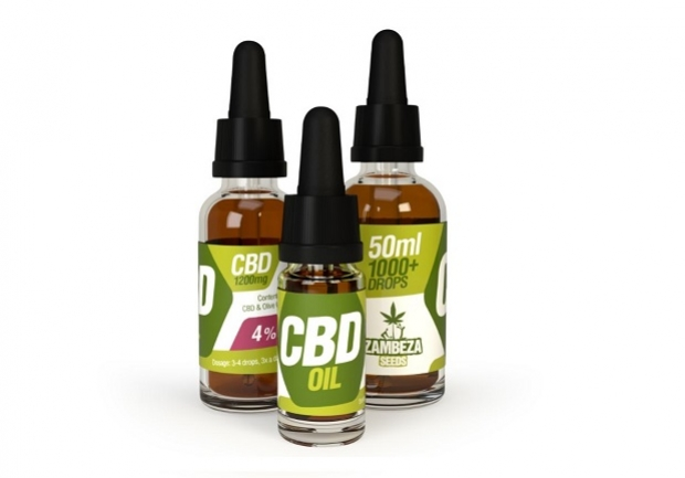CBD Oil: 2.5%, 4%, And 10% | Zambeza Seeds